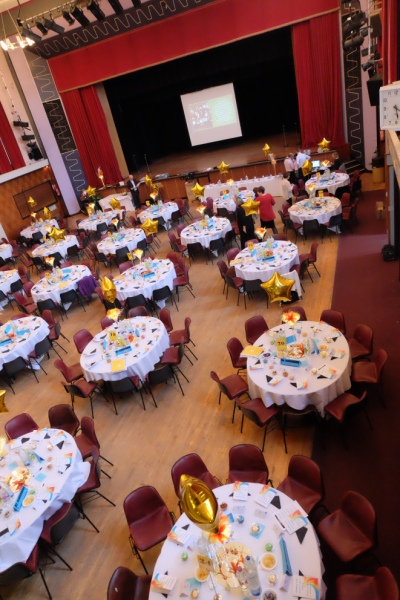 What great things could happen in this space? This photo was taken during the set up of our last AGM and Volunteer Awards