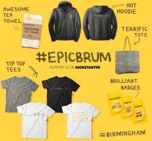 #EpicBrum Kickstarter rewards image
