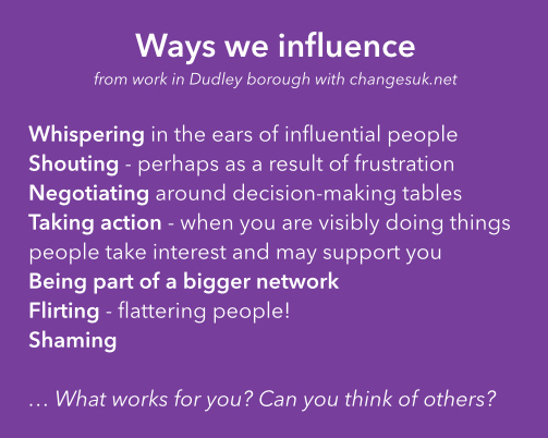 voice and influence  u2013 a post for  smallcharityweek policy day  u2013 dudley cvs blog